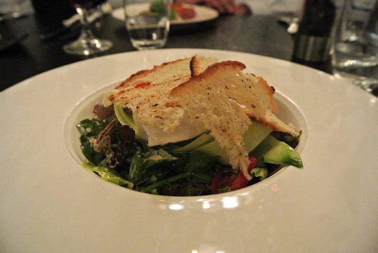 Helsinki hotel Kamp brasserie goats cheese salad