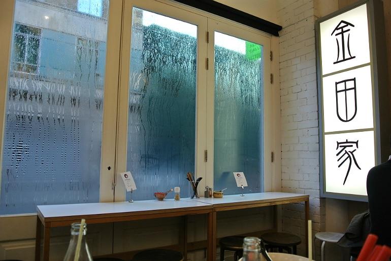 Kanada ya ramen bar Covent Garden London review condensation