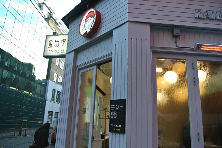 Kanada ya ramen bar Covent Garden London review