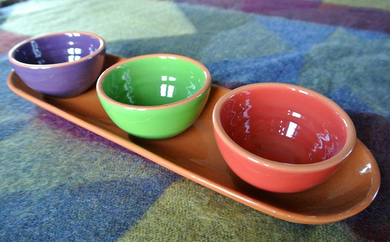 Olive nibbles dishes