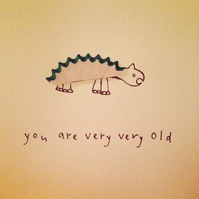 Thanks for the reminder @emejb! ? #dinosaur #passthebotox