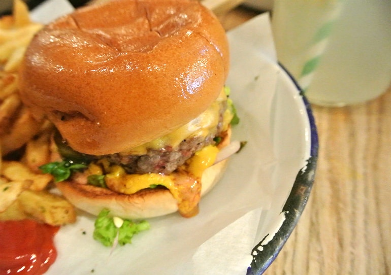 Honest burger Soho London review tribute burger