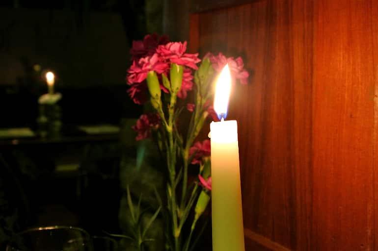 Thai Modern Milton Keynes review candle