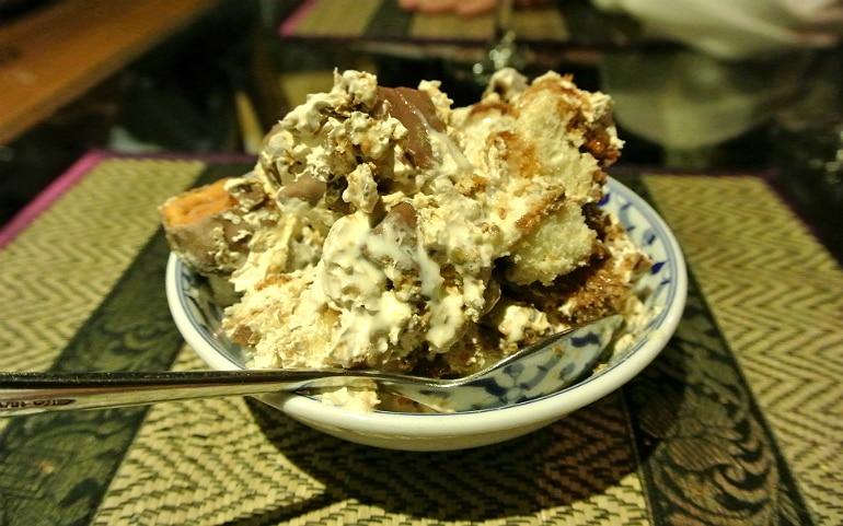 Thai Modern Milton Keynes review crunchy chocolate dessert
