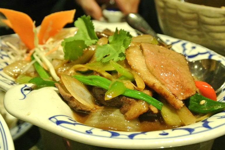 Thai Modern Milton Keynes review duck curry