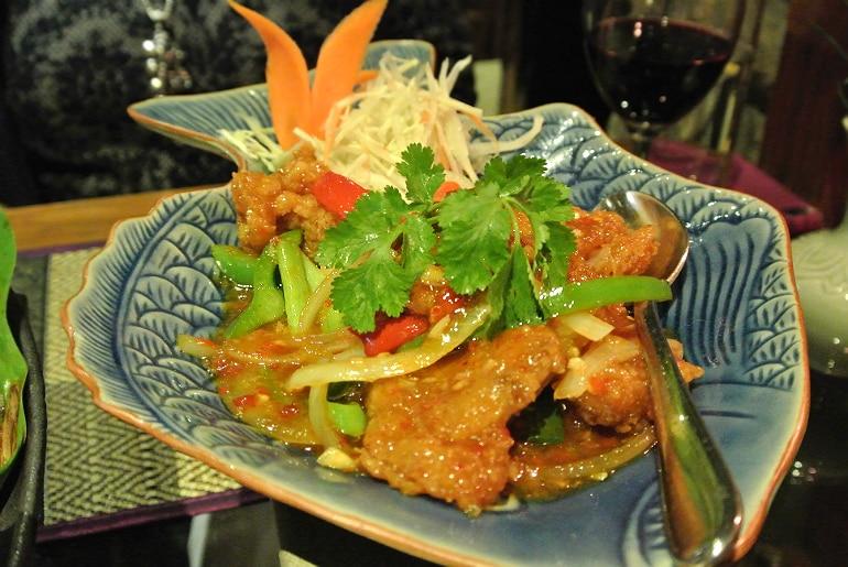 Thai Modern Milton Keynes review monkfish