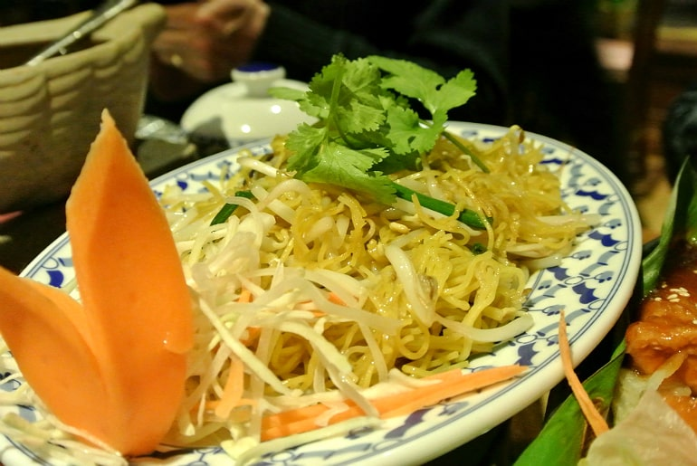 Thai Modern Milton Keynes review noodles
