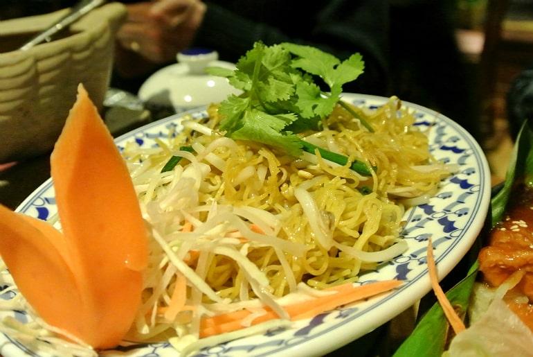Thai Modern Milton Keynes review noodles