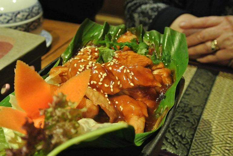 Thai Modern Milton Keynes review sweet sour chicken