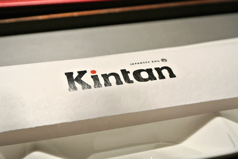 Kintan Japanese BBQ review London chop sticks
