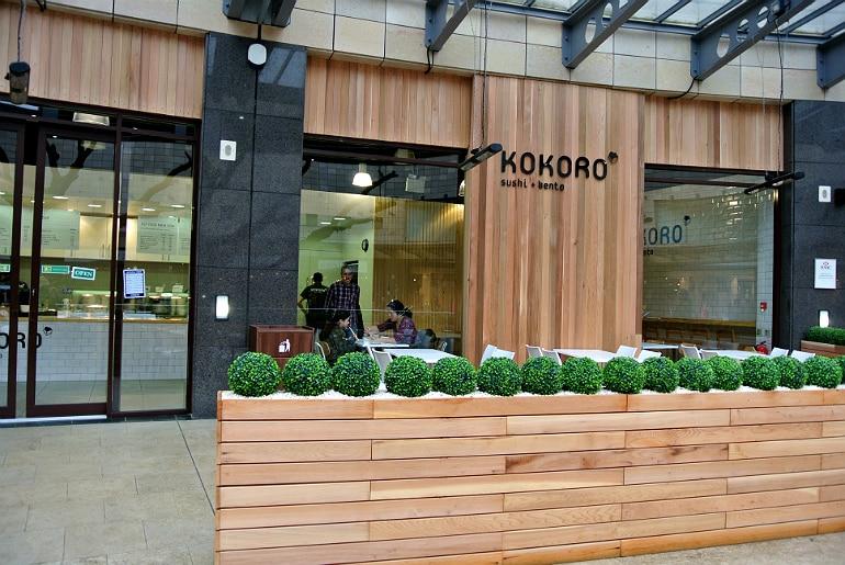 Kokoro sushi bento Milton Keynes review centre mk