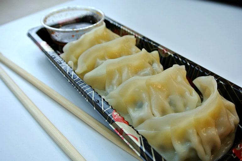 Kokoro sushi bento Milton Keynes review gyoza