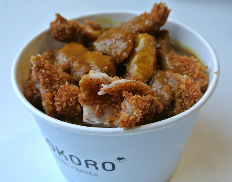 Kokoro sushi bento Milton Keynes review katsu curry