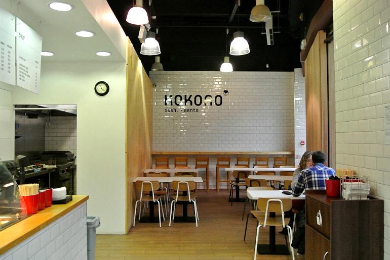Kokoro sushi bento Milton Keynes review restaurant