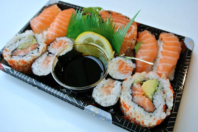 Kokoro sushi bento Milton Keynes review sushi box
