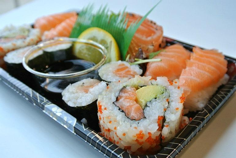 Kokoro sushi bento Milton Keynes review sushi