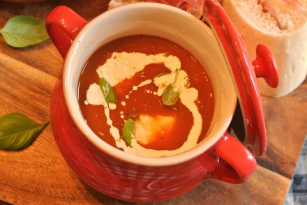 Mary Berry roasted tomato soup recipe cover