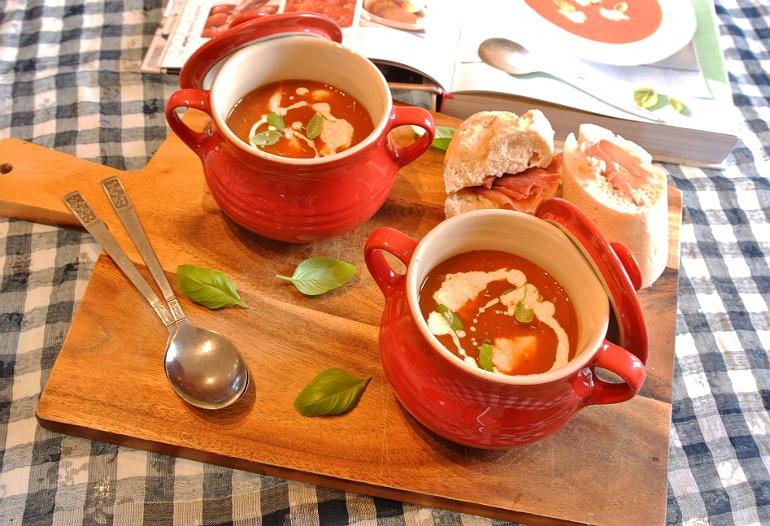 Mary Berry roasted tomato soup recipe pots