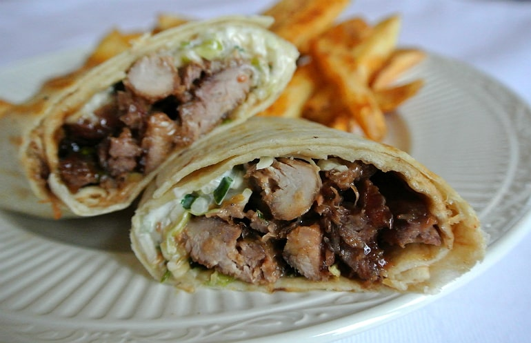 Percys Milton Keynes pulled duck special review wrap
