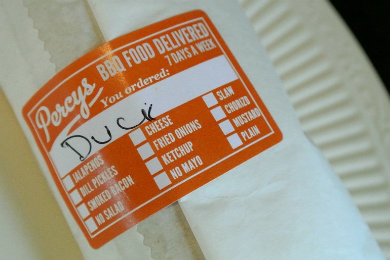 Percys Milton Keynes pulled duck special review