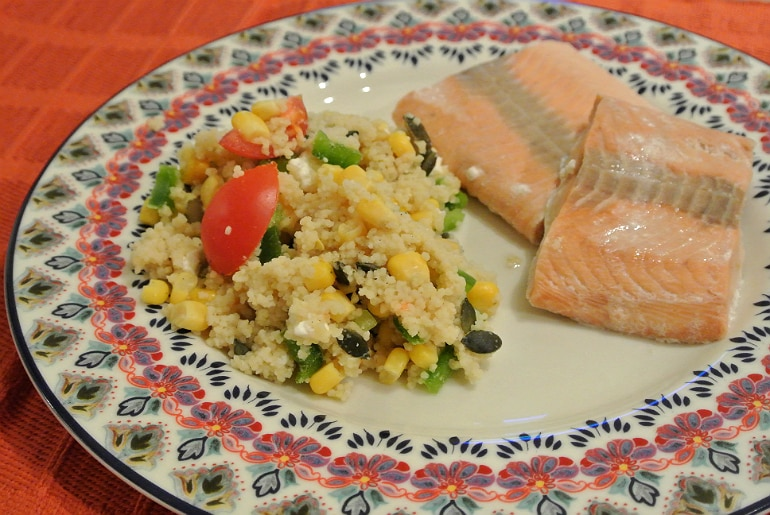 Upbeat protein review meal plan challenge cous cous