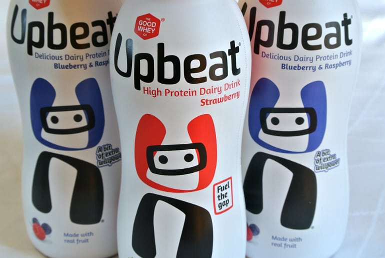 Upbeat protein review twitter