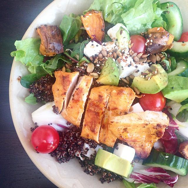 Just tried the new Nandos quinoa salad. Verdict? It was ok... It's no Mediterranean salad!  #Nandos #dinner #healthy #foodpics