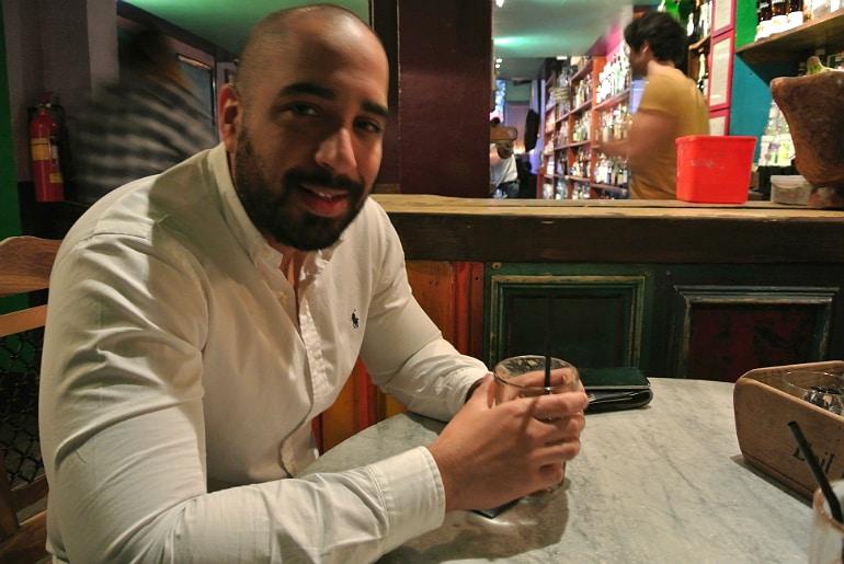 Evil Eye cocktail bar York review mr yds