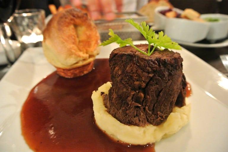Go Down restaurant York beef