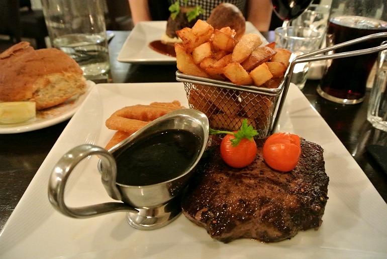 Go Down restaurant York steak