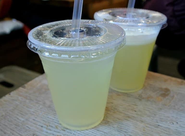 Little Shambles York review lemonade