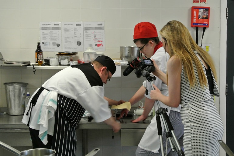 Milton Keynes Food Awards 2015 chef prep