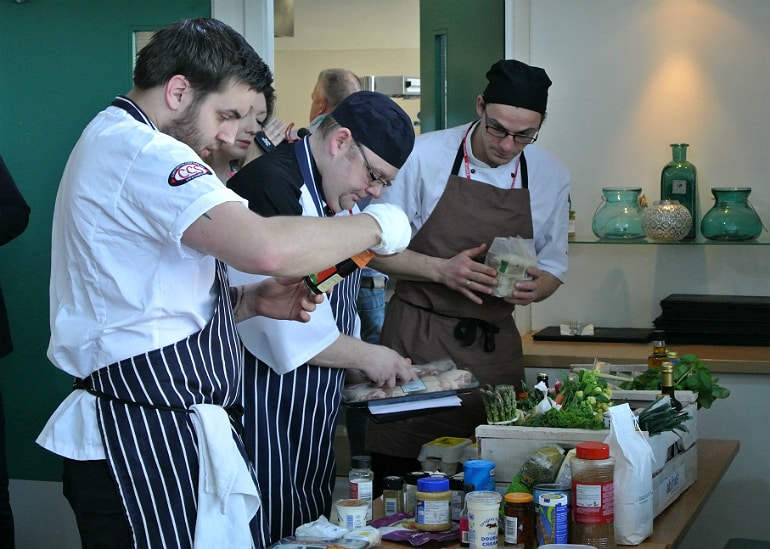 Milton Keynes Food Awards 2015 chefs