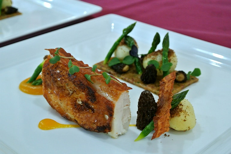 Milton Keynes Food Awards 2015 chicken main