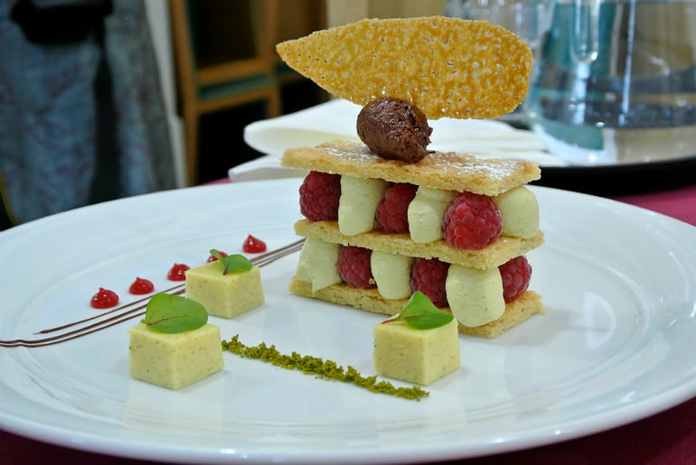 Milton Keynes Food Awards 2015 dessert course