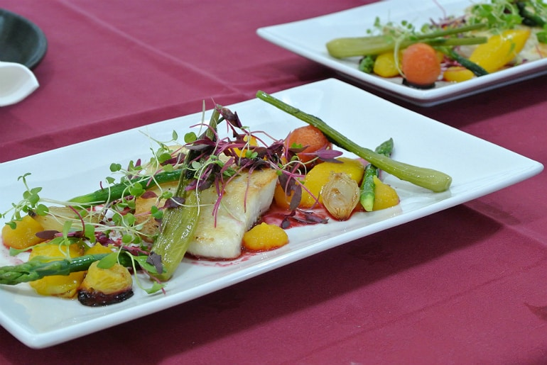Milton Keynes Food Awards 2015 halibut