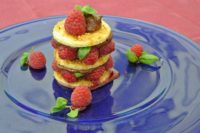 Milton Keynes Food Awards 2015 raspberry dessert
