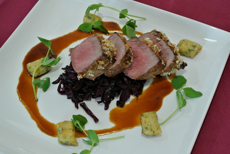 Milton Keynes Food Awards 2015 venison