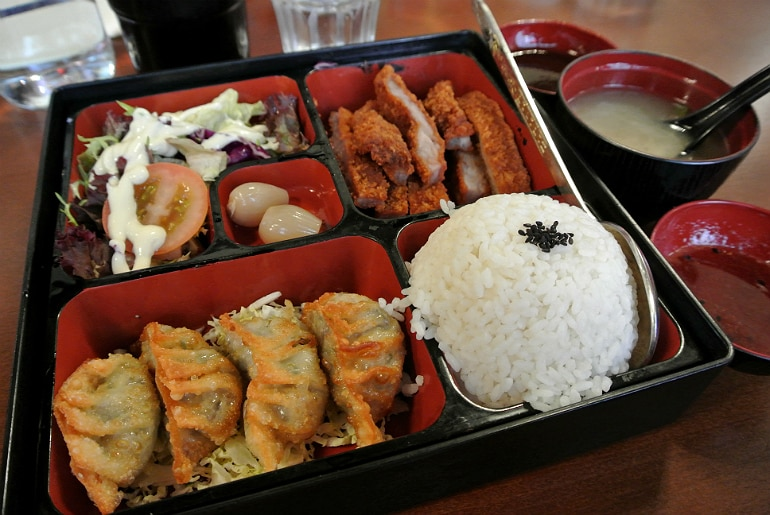 Ocean Dragon Birmingham review bento