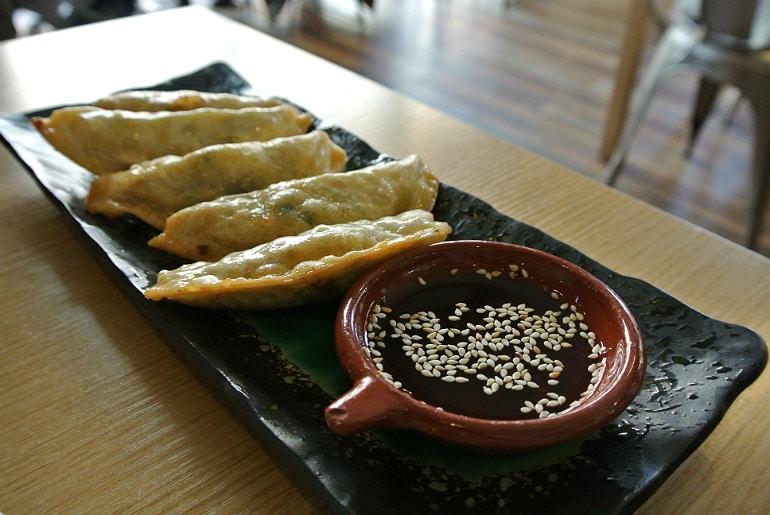 Topokki Birmingham Korean restaurant dumplings