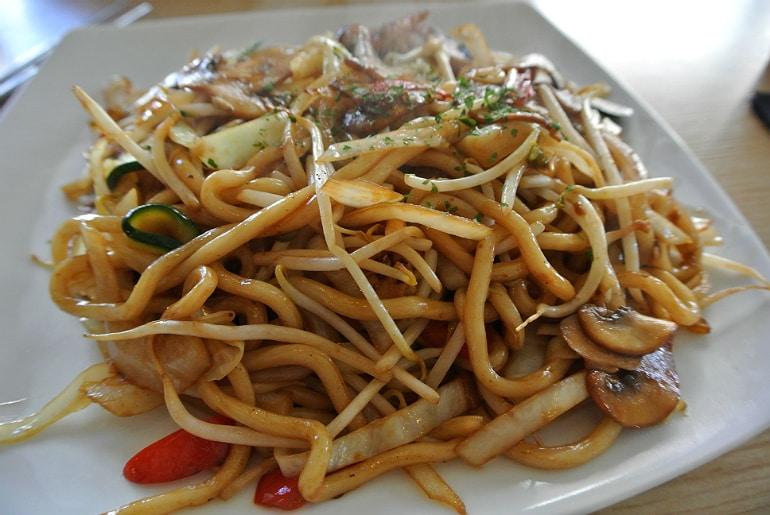 Topokki Birmingham Korean restaurant noodles
