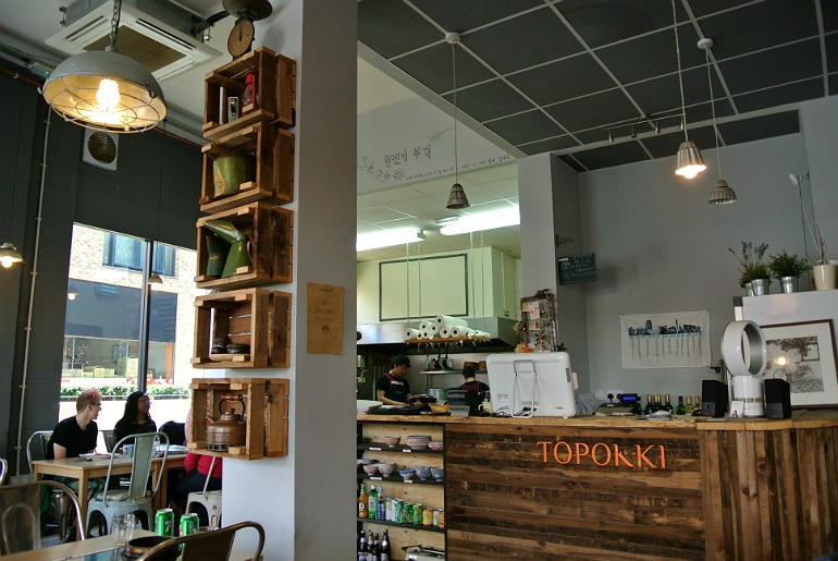 Topokki Birmingham Korean restaurant review