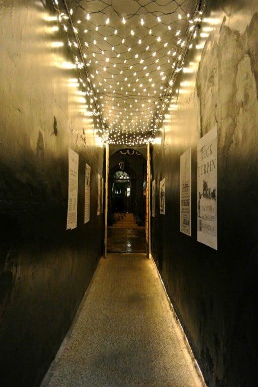 York Judges Court hotel walkway