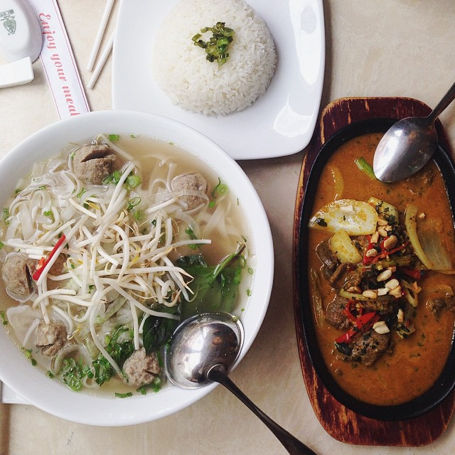 Mouth is on fyaaaa! ? #lunch #foodporn #Vietnamese