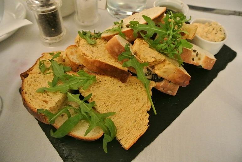 Woburn Brasserie restaurant review bread