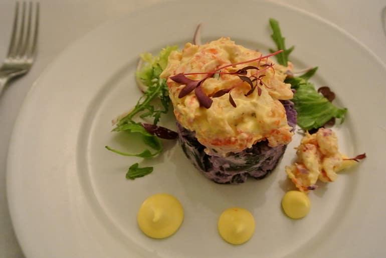 Woburn Brasserie restaurant review crayfish