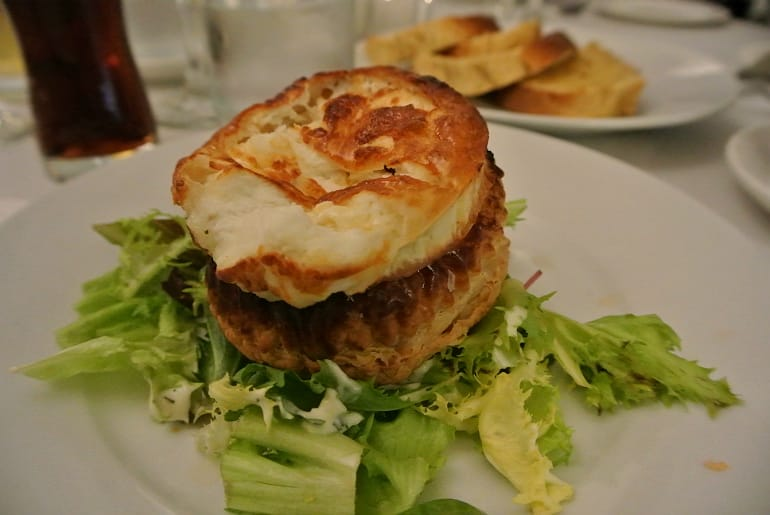 Woburn Brasserie restaurant review goats cheese