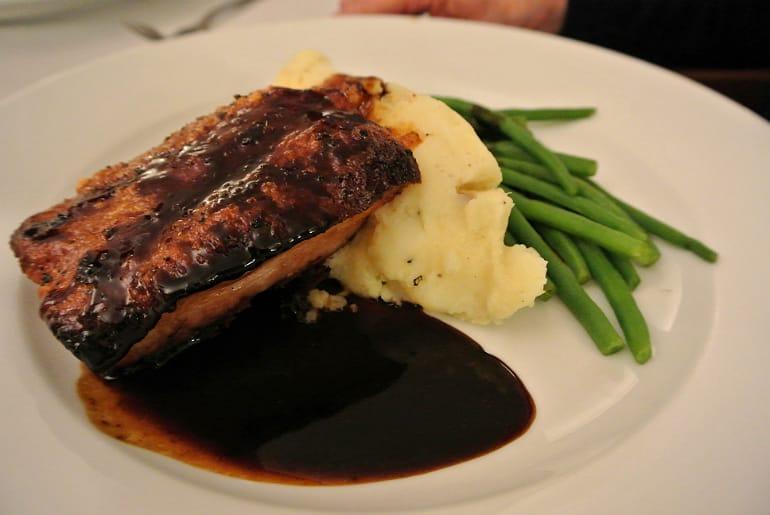 Woburn Brasserie restaurant review pork belly