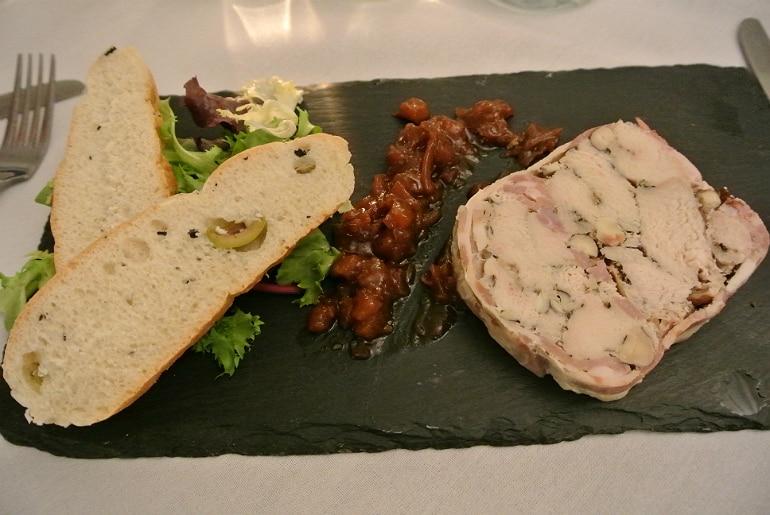 Woburn Brasserie restaurant review tagine