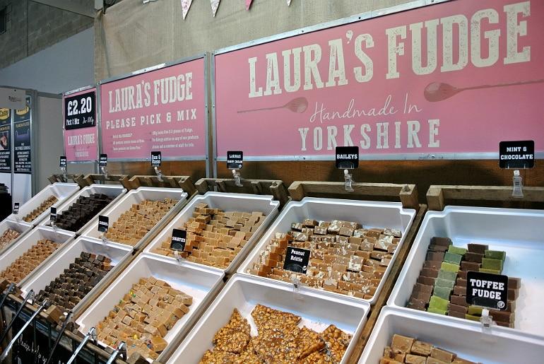 BBC Good Food Show Lauras fudge
